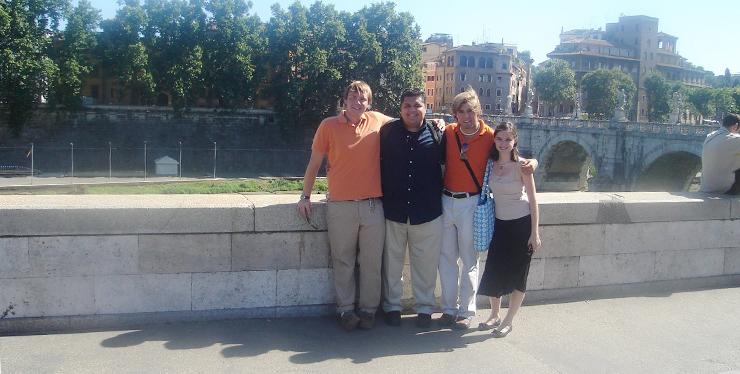 Guys in Rome
