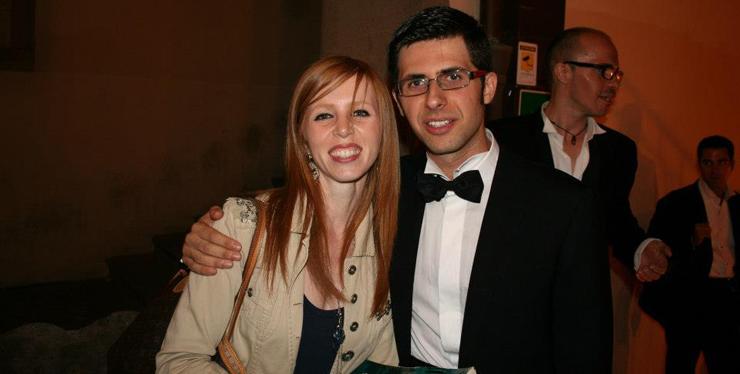 Valeria Monacelli and Giovanni Liguori