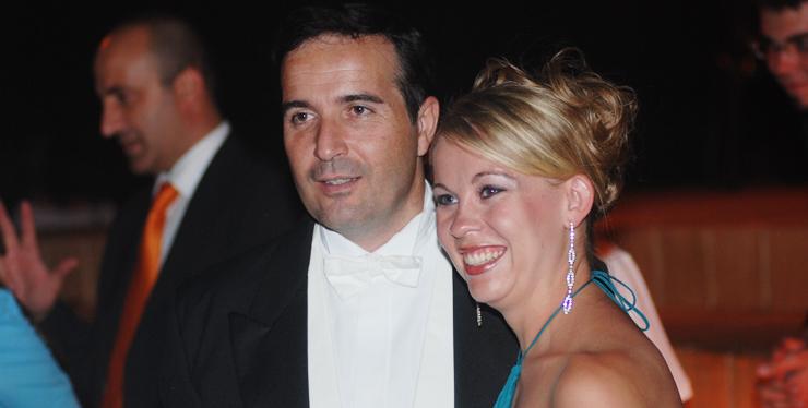 BrieAnne Welch with Maestro Stefano Vignati